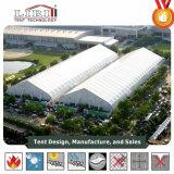 Großes Weiß-Kurbelgehäuse-Belüftung gebogenes Dach-im Freien freie Überspannungs-Handelszelt für Verkauf