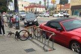 فولاذ أثاث لازم من درّاجة حامل قفص من على طريق