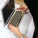 kundenspezifische Haut-Software des Laptop-3D für hallo Miezekatze-Laptop-Haut