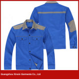 Venda por atacado barato da segurança para vestuário dos uniformes do trabalhador da indústria do óleo (W130)