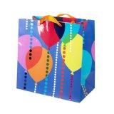 Sacs de cadeau pour des achats, sac de papier de cadeau, sacs en papier, sac de papier d'emballage
