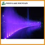 Fontaine à sec caché Piscine avec éclairage LED coloré et Musique