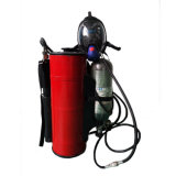 Sistema de control de incendios de neblina de agua