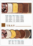 Сервировка Tray Sets, Round/Square Melamine Tray для европейского Market