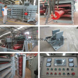 Superventas aprobado del papel usado del CE automático horizontal de la prensa