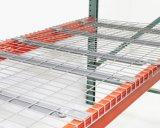 Piattaforma galvanizzata della maglia del filo di acciaio per la cremagliera del pallet del magazzino