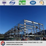 A China Steel Prefab Frame no depósito