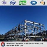 Marco prefabricado de acero de China para el almacén