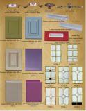 De hete Verkoop paste Hoge Glanzende Houten Keukenkast (#M2012-25) aan