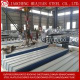 Hoja galvanizada del material para techos de Corrugared usada para el edificio