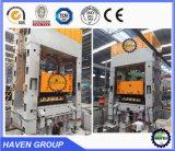 Metal de la prensa hidráulica que estampa la prensa hidráulica
