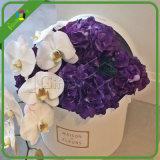 Cuadro de flor de cartón con logo personalizado