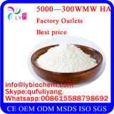 Ácido hialurónico de la alta calidad de la fuente de la fábrica/sodio Hyaluronate