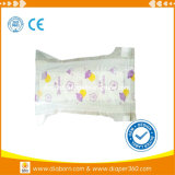 Super nice descartáveis de absorção de fabricantes de fraldas para bebé