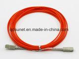 Sc/Upc-Sc/UPC Patchcord Fibre optique multimode
