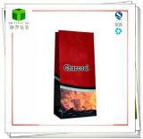 Подгонянный BBQ бумажных мешков угля Brown Kraft печатание