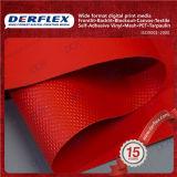 Tela incatramata rivestita del PVC del PVC della tela incatramata di plastica resistente della tela incatramata