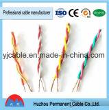 Cable Twisted aislado PVC para el cableado del control del interruptor