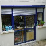 Aluminiumwohnrollen-Blendenverschluss-Latte-Fenster