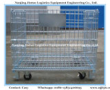Warehouse Storage staal gaas Roll Container met Casters