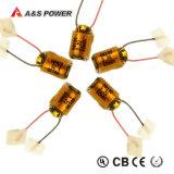 10100 bloco da bateria do polímero de Li do lítio de 3.7V 58mAh para o fone de ouvido