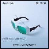 630 - 660nm Od3+ & 800 - стекел лазера 830nm Od5+ защитных от Laserpair