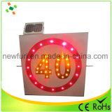 LED 태양 제한 속도 교통 표지