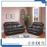 Klassischer Replik-funktionellaufenthaltsraum-echtes Leder-Sofa-Möbel-Wohnzimmer-Sofa-Luxuxset