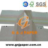 Papel de imprenta termal blanco del color para la impresora médica
