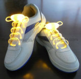 OEM 형식 번쩍이는 다채로운 LED 단화 레이스 레이스