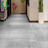 Couleur gris texturé de luxe en vinyle PVC étanche Plank Flooring Tile Changlong Cls-23