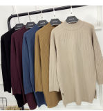 女性のためのばねのウールのセーターの服デザインは服を卸し売りする