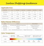 Marcação RoHS 3W E14 LED de cobertura de vidro Velas de incandescência