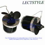 3/4HP 1.5HP De-Icer Motor sumergible eléctrica en el lago& estanque de agua de botella lavagases circulador de agitador