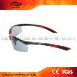 Do brilho polar protetor dos óculos de sol da bicicleta UV400 do costume óculos de sol elevados polarizados Tac do esporte ao ar livre da visão