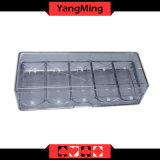 Acrylchip-Tellersegment-Acrylchip-Kasten-Zahnstange für 40mm Schürhaken-Chip-Tellersegment (YM-CT07)