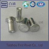 remache de aluminio sólido principal plano de 8X20m m