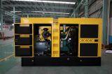 125kVA/100kw conjunto gerador Diesel Volvo com canópia insonorizada (TAD532Gabinete GE)