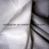 운동복 안대기를 위한 폴리에스테에 의하여 뜨개질을 하는 메시 직물