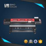 Impressora digital UV Sinocolor-740 Luz UV de Rolo para Rolo Separador Impressora