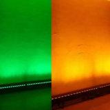 18X15W RGBW 4NO1 parede LED cor Barra de lavagem de luz com a função de controle de ponto DMX
