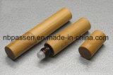 bottiglia di vetro di bambù del Roll-on 10ml per l'imballaggio dell'estetica (PPC-BRB-004)