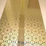 Золото листа нержавеющей стали/машина плакировкой черноты/сини/цвета PVD золота Rose
