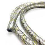 """5/16本の""""ガスのためのインチ304のステンレス鋼ワイヤー編みこみのホース"""