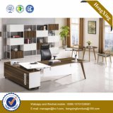 Escritorio 2016 de oficina de madera del vector de la oficina de los muebles de oficinas de la melamina (HX-BS804)
