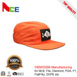 Логоса заплаты фабрики шлем Snapback панели нейлона 5 изготовленный на заказ неструктурированный