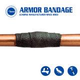 装甲覆いのパイプラインの漏出修理防水テープオイルガスの配管の管修理包帯の増強