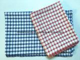Создавайте собственные OEM проверки из жаккардовой ткани оранжевого цвета хлопок махровые полотенца для чая на кухне