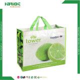 Kundenspezifische Mappen-mehrfachverwendbare faltende Supermarkt-Lebensmittelgeschäft-wasserdichte expandierbare Tuch-Vliesstoff-Einkaufstasche