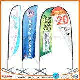 Outdoor Portable Beach Flag Banner décoration personnalisée